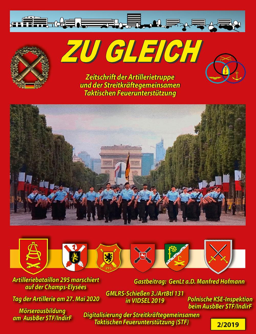 Zu Gleich – Zeitschrift der Artillerietruppe und der Streitkräftegemeinsamen Taktischen Feuerunterstützung