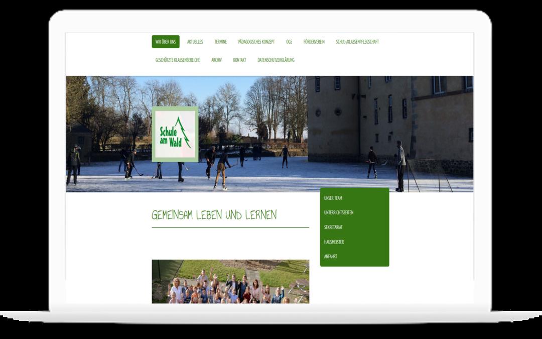 Erste Homepage für Schulen