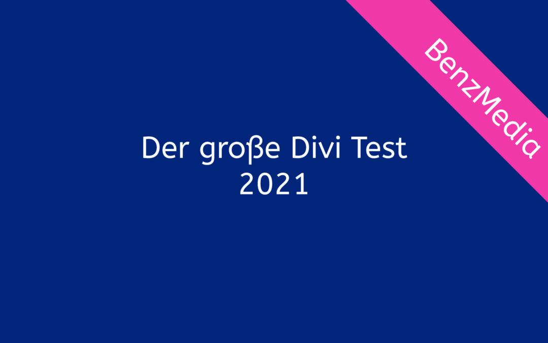 Der große Divi Test für 2021
