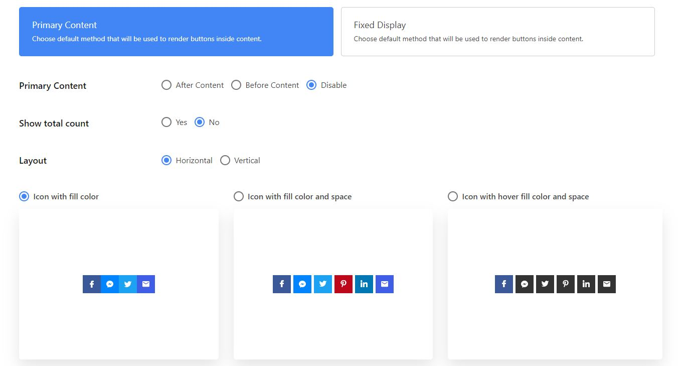 social share Buttons 2