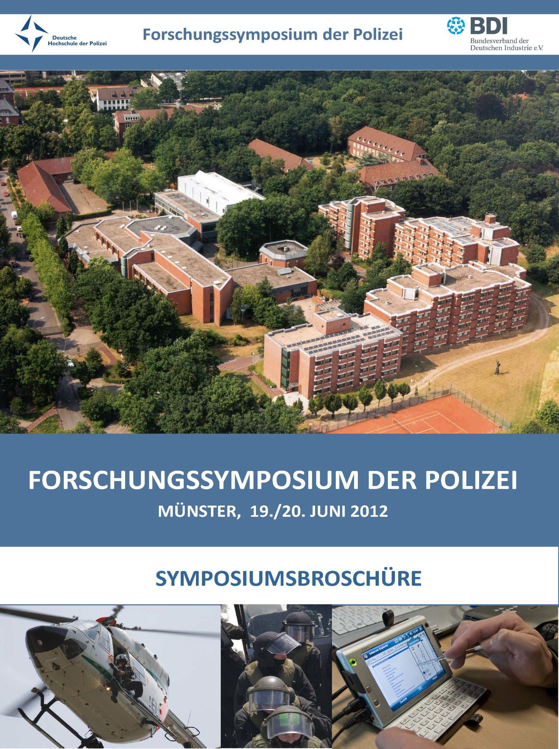 Forschungssymposium Polizei Print Flyer